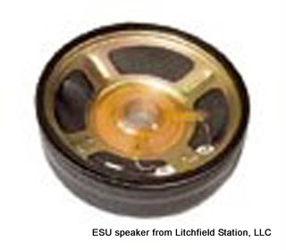 Speaker 78 mm diameter round 32 Ohms