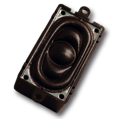 20mm x 40mm, square, 4 Ohms, with sound chamber