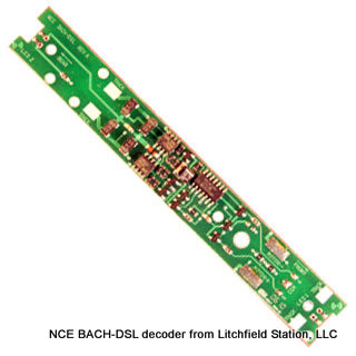 HO DCC decoder LocoSpecific Bachmann diesel by NCE BACH-DSL