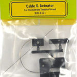 Tortoise Remote Mount - Cable and Actuator Assembly 800-6101