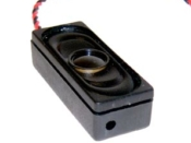 14mm X 36mm & 8 ohms,1.5W self contained in a ported enclosure, 14.4x37x10Dp - #SP-14x36-08ENC