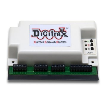 Fixed DCC decoder quad all motors by Digitrax DS64 LocoNet feedback - #245-DS64