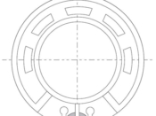 Speaker 28 mm diameter round 32 ohms (CLON)