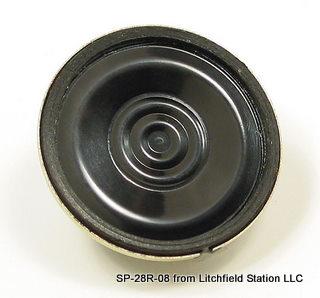 Speaker 28 mm diameter round 8 Ohms
