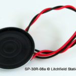 Speaker 30 mm diameter round 8 Ohms - SP-30R-08