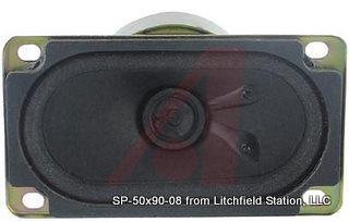 Speaker 50 x 90 mm rectangular 8 Ohms