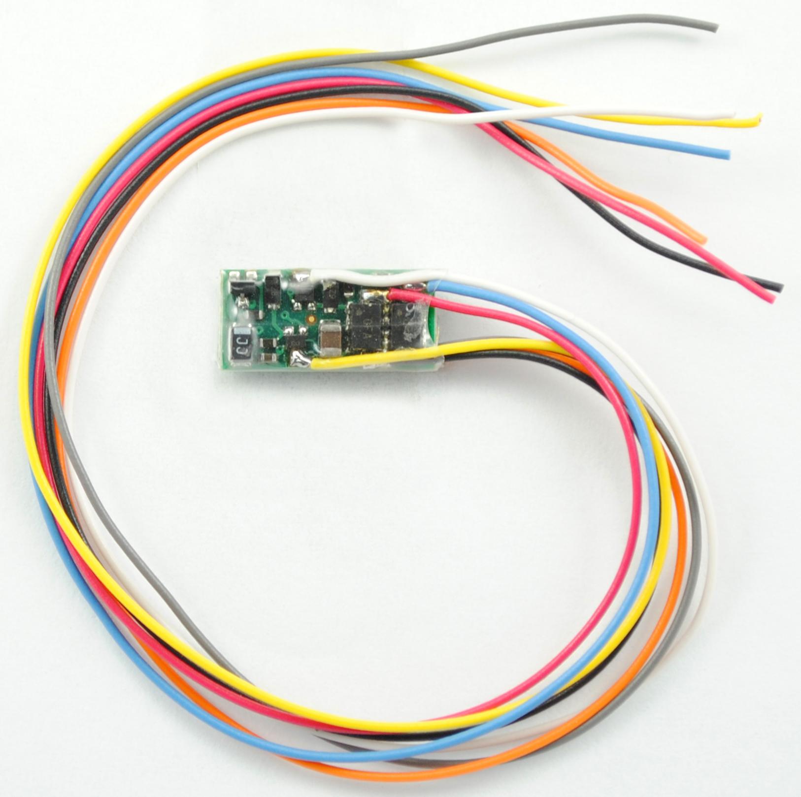 1296 z dcc decoder  u2013 7 inch wire leads  u2013  tcs
