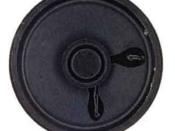 Speaker Round 3 inch 8 ohm 1 watt