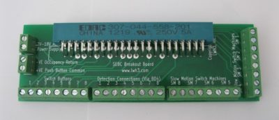 Input Board with screw terminals for Digitrax boards - SE8c