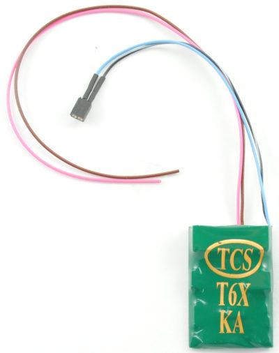 T6X W/ Keep Alive 2pin Connector Decoder by TCS