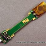 N DCC decoder LocoSpecific Atlas light board by Digitrax - Short
