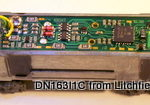 N DCC decoder LocoSpecific InterMountain by Digitrax - DN163I1c - F3A or F3B or F7A or F7B