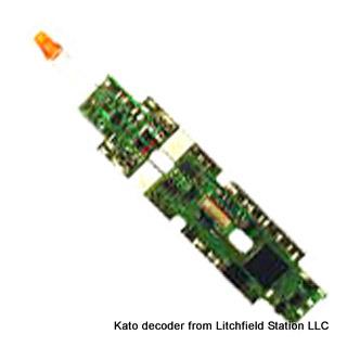 N DCC decoder LocoSpecific Kato by Digitrax - DN163K0b - F3