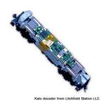N DCC decoder LocoSpecific Kato by Digitrax - DN163K0d - F40PH