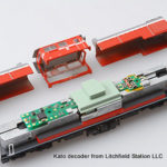 N DCC decoder LocoSpecific Kato by Digitrax - DN163K1D - GG1, DD51, EMD class 66, SD70ACe