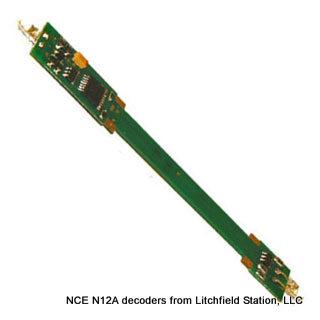 N DCC decoder LocoSpecific Atlas light board by NCE - Long