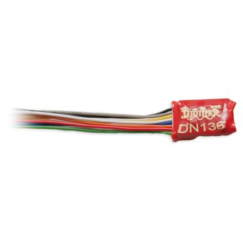 DN136D 1 Amp N / HO Scale Wired Mobile Decoder