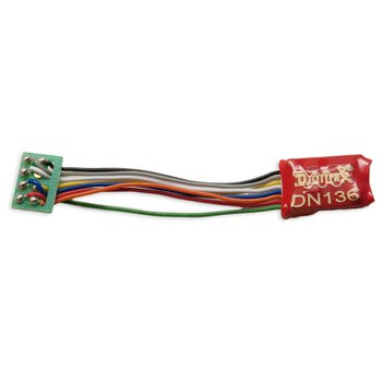 DN136PS 1 Amp N/HO Scale Mobile Decoder with Short 8 pin Harness