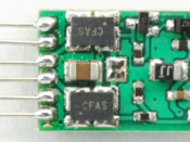 1298 N DCC decoder - NMRA 6-pin NEM651 integrated plug - #TCS-EUN651
