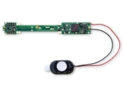 Digitrax N Scale Sound Decoders - SDN144A0 1 Amp N Scale Mobile Decoder for Atlas N Scale GP38 and similar locos