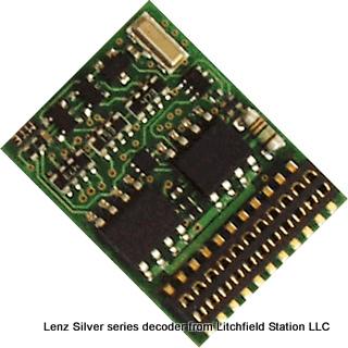 Lenz Silver Plus 21 Decoder - #428-10321-01