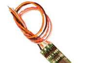 N DCC decoder basic by NCE N12 series - None - Wire Leads N12SR