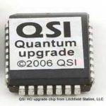 HO DCC decoder upgrade chip by QSI