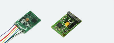ESU LokPilot Standard DCC, 21MTC interface, 4 amplified outputs + 2 logic outputs - #397-53614