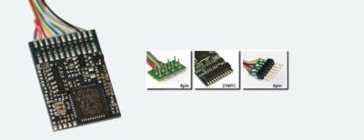 HO DCC decoder premium by ESU LokPilot - 21 MTC Connector
