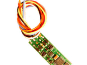 N DCC decoder premium by NCE N14 series - None wire leads