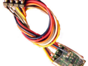 Z DCC decoder basic by NCE Z14-SR - NMRA 8-pin NEM652 3 inch harness