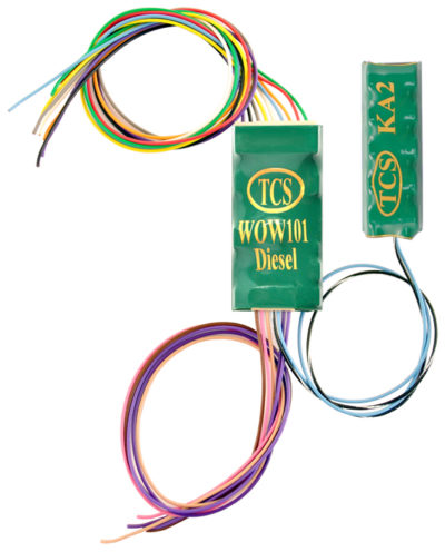 1533 TCS WOW 101 Diesel Sound decoder w/ KeepAlive - #TCS-WOW101-KA-Diesel