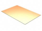 "PCB COPPER CLAD 1/4 X 4"" 1 SIDE, 1/32"" - #PCB-1/4x4"
