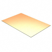 "PCB COPPER CLAD 1/4 X 4"" 1 SIDE, 1/32"" - #PCB-1/4x4"