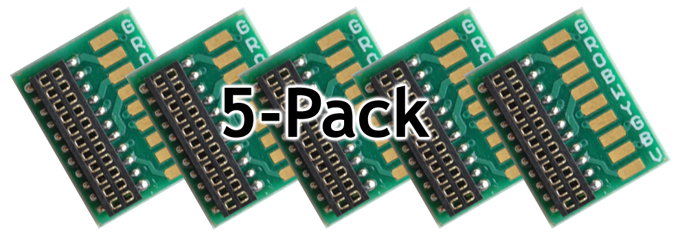 1358 21-HW-5Pack, Circuit Board with NEM21 Socket and Solder Pads -  #TCS-1358