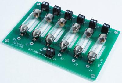 5240227 DCC Circuit Protector 6 circuit - #524-CP6
