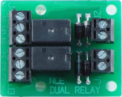 5240236 NCE Dual Relay- #524-DualRelay