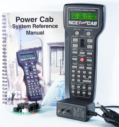 5240042 NCE DCC system 2 Amp Power Cab w/ 240VAC power supply for UK - #524-PowerCab-UK