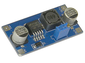 DC-DC Adjustable Step-Down Voltage Regulator Module 1.5-35VDC Output @ 2A - #RegAdj