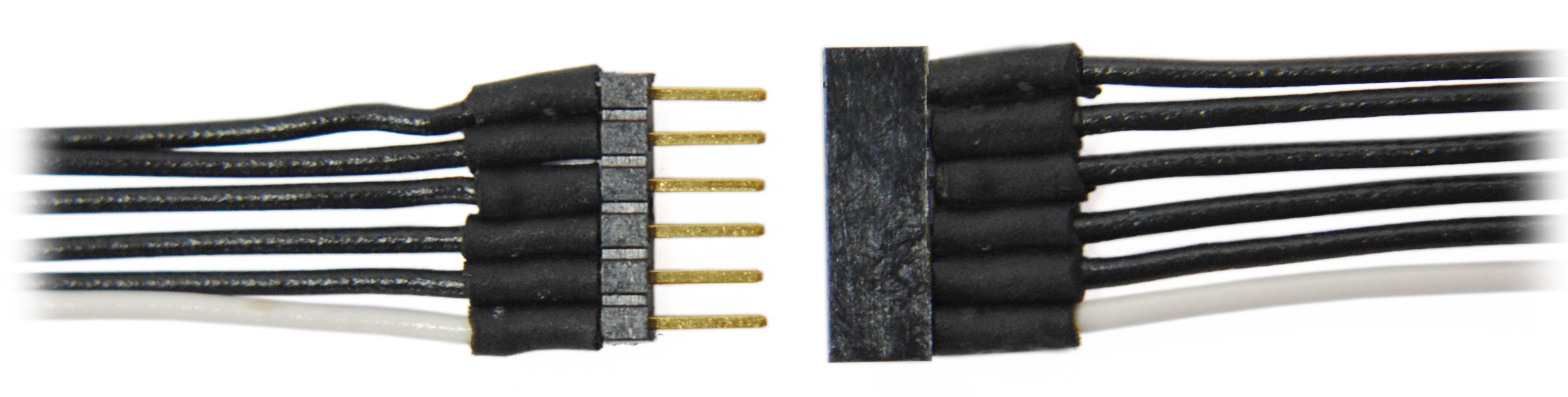1476 6-Pin Micro Connector 6″ wires – #TCS-1476 – Litchfield Station