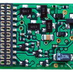 1344 21 pin 6 function decoder for HO European Locos - #TCS-EU621X