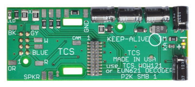1543 motherboard for Life-Like P2K series of steam engines with KA2 - #TCS-P2K-MB1