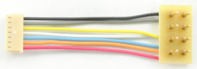 "1366 MC-1"" is a 1"" or 25mm harness with a 8-pin NMRA plug for the MC series of decoders"