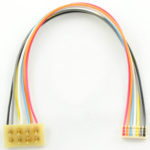 "1368 MC-3.5""R is a 3.5"" or 75mm MC series harness with a 8 pin NMRA plug which is rotated 180 degrees"