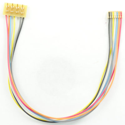 "1370 MC-5""R is a 5"" or 125mm MC series harness with a 8 pin NMRA plug which is rotated 180 degrees"