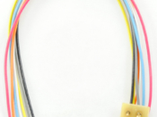 """1371 MC-3.5"""" - UK is a 3.5"""" or 75mm United Kingdom wired harness with a 8 pin NMRA"""