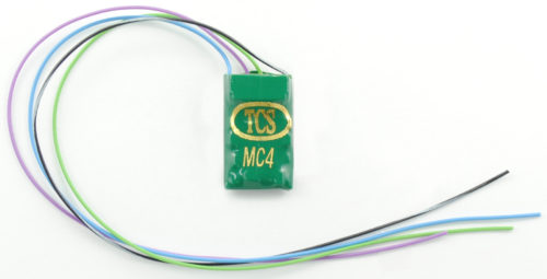 1442 MC4-KA 4 function decoder with wire harness and Keep-Alive wires