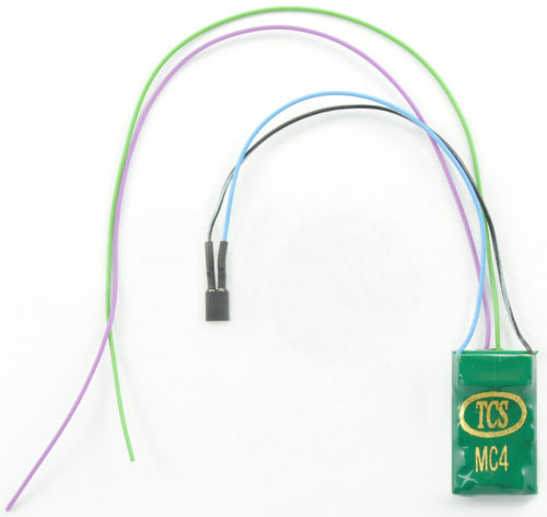 1443 MC4-KA 4 function decoder with wire harness and Keep-Alive wires with connector