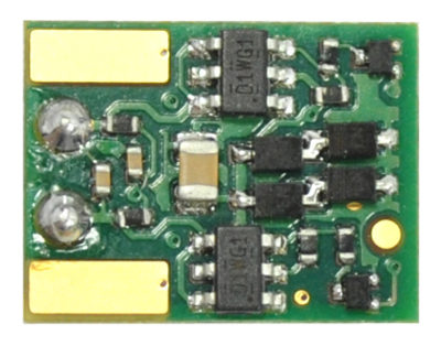 1549 - 4 function, board replacement decoder for Micro-Trains N-Scale SW 1500