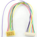 """1361 T-3.5"""" is a 3.5"""" harness for the T series with a NMRA plug"""